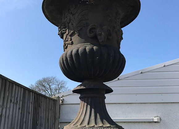 Pre-Owned Cast Iron Urns