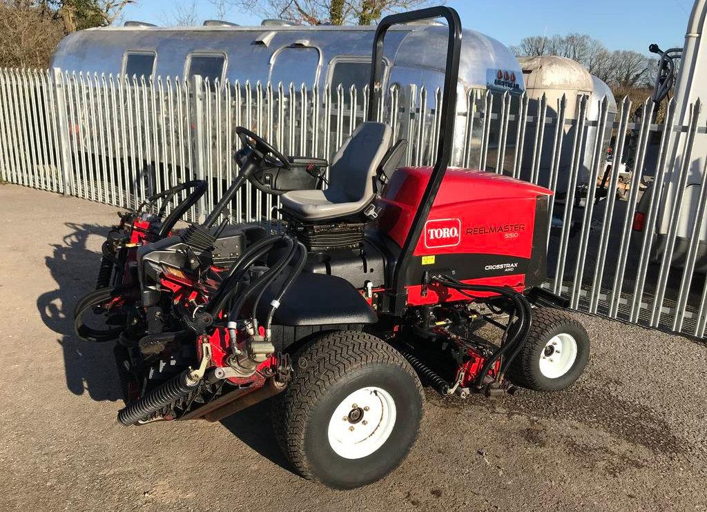 Toro Reelmaster 5510-D 4-Wheel Drive Fairway Mower | palehouse-groundcare