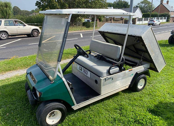 Club Car Carryall 2 Electric utility vehicle golf buggy with cargo box