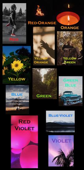 Digital photography - Composite Image  Chico High School Digital Arts - color wheel project Spring 2021
