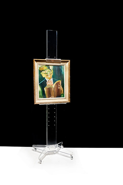 Chic Plexi Glass Adjustable Easel