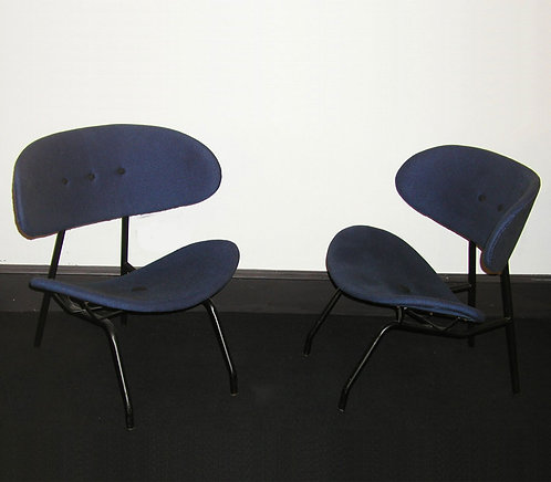 Pair Poltronova Chairs