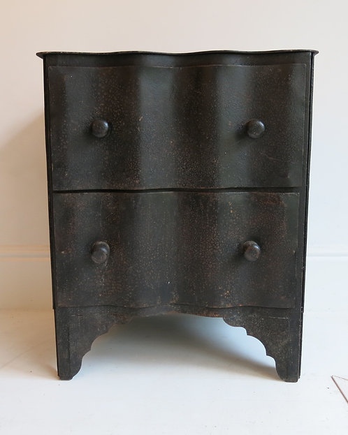 Rare French Metal Chest