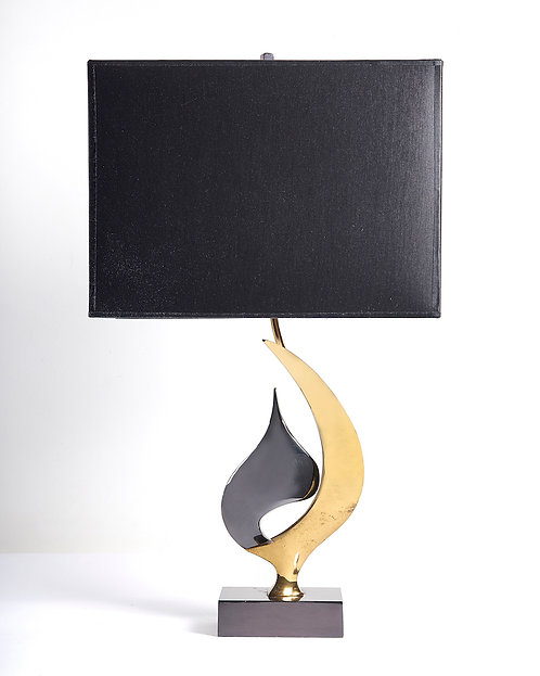 Willy Daro table lamp signed
