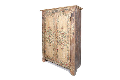 Rare UZES Painted Armoire