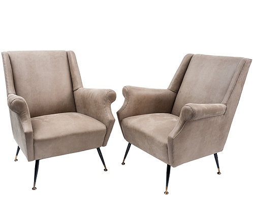 1950's Italian Armchairs