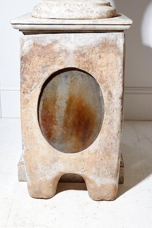 Terracotta firescreen