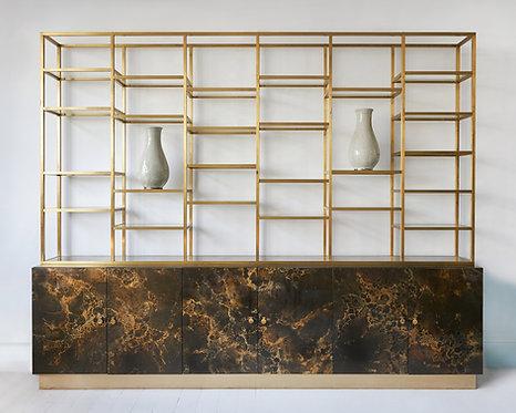 Maison Jansen Rare display cabinet, Paris Circa 1970's