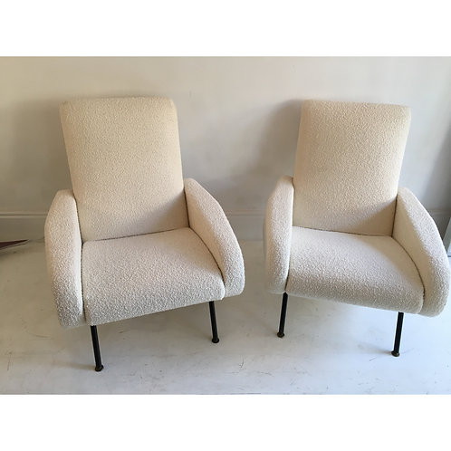 Pair of armchairs by Steiner