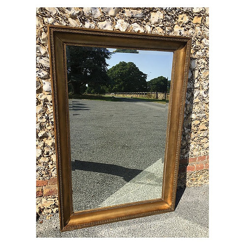 Large 19th century French gilded mirror