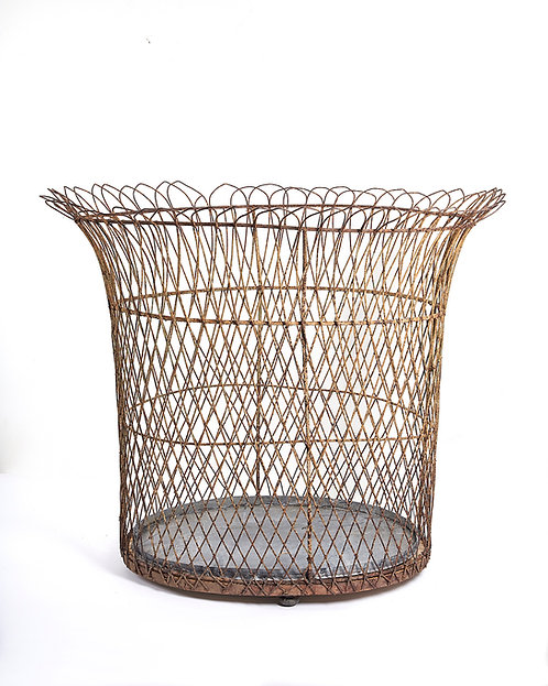 Large Scale Wire Planter French mid 19th century