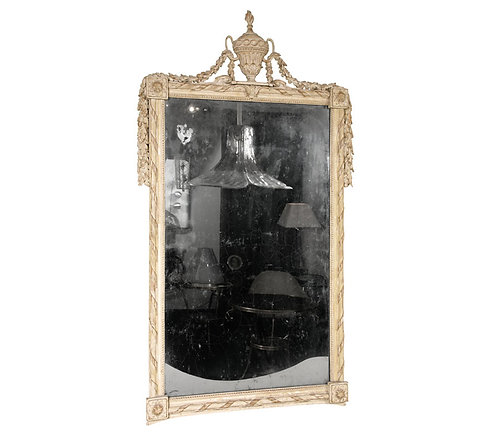 18th Century French Painted Mirror