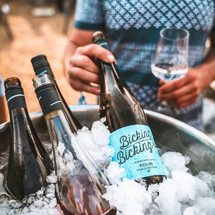 Weinprobe mit Lukas Bicking vom Weingut Bicking & Bicking