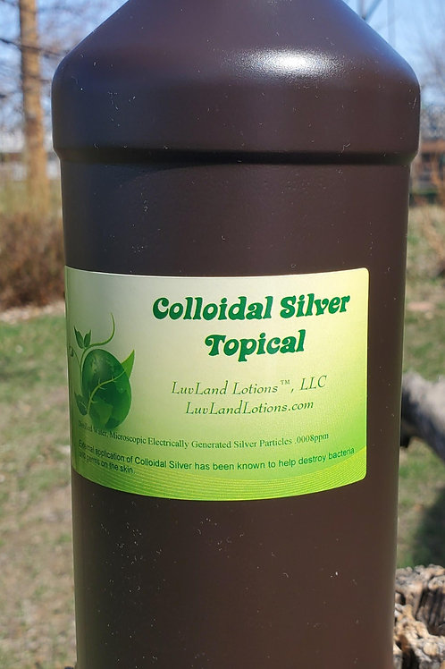 Colloidal Silver Topical Qt