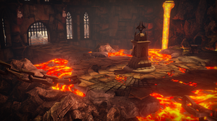Fire Dungeon within Har-Onesh