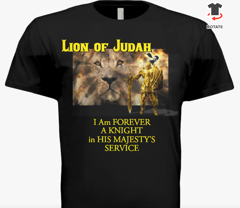 Lion of Judah T-Shirt Front