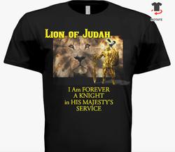 Lion of Judah T-Shirt Front