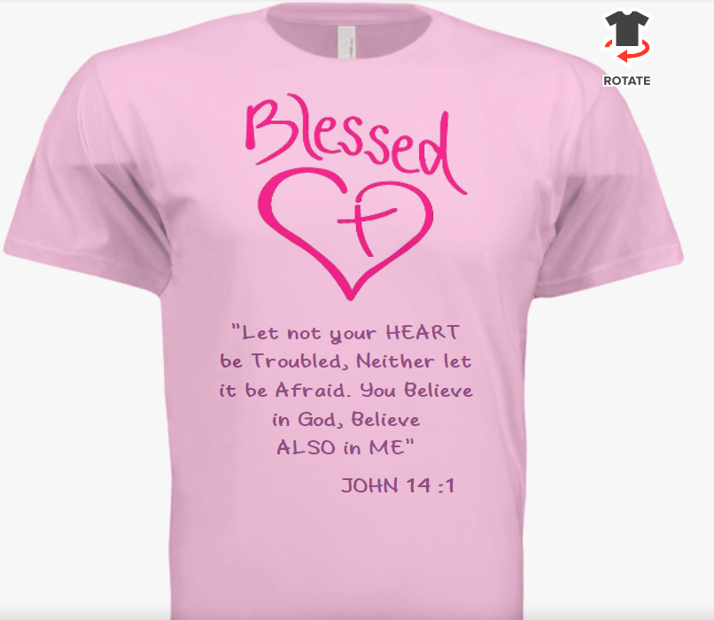 Ladies Blessed T Shirt