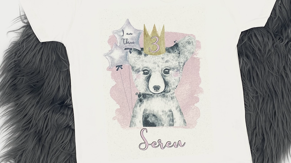 Bear Birthday T-Shirt