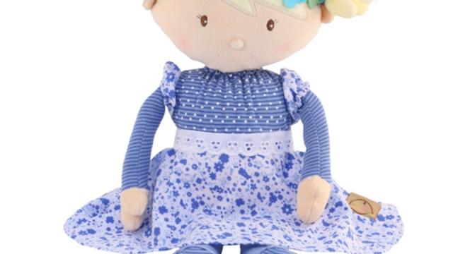 Personalised Rag Doll Evie