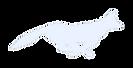 Pale blue fox