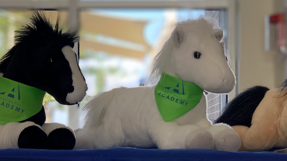 Fort Worth Academy Plush Horse