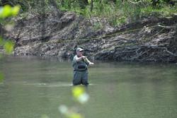 Fishing at Bennett
