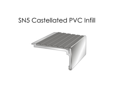 SN5 Castellated PVC Infill
