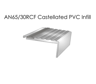 AN65-30RCF Castellated PVC Infill