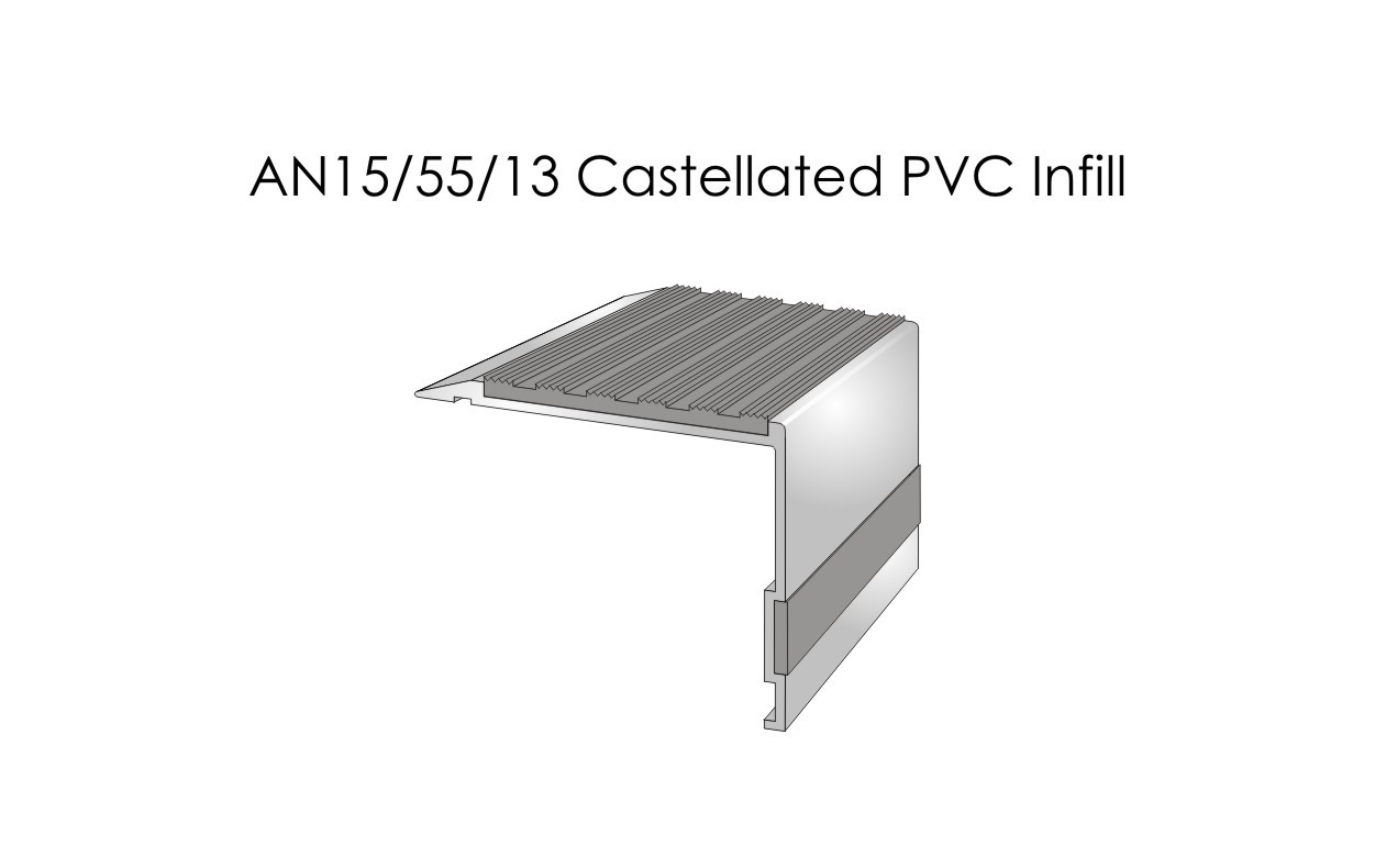 AN15-55-13 Castellated PVC Infill