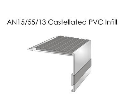 AN15-55-13 Castellated PVC Infill