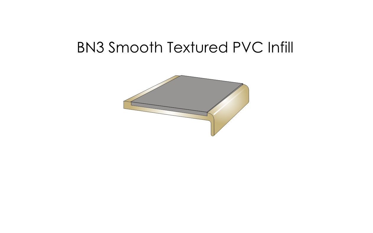 BN3 Smooth Textured PVC Infill