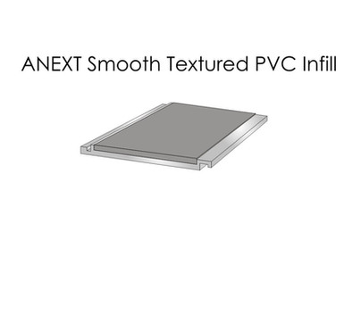ANEXT Smooth Textured PVC Infill