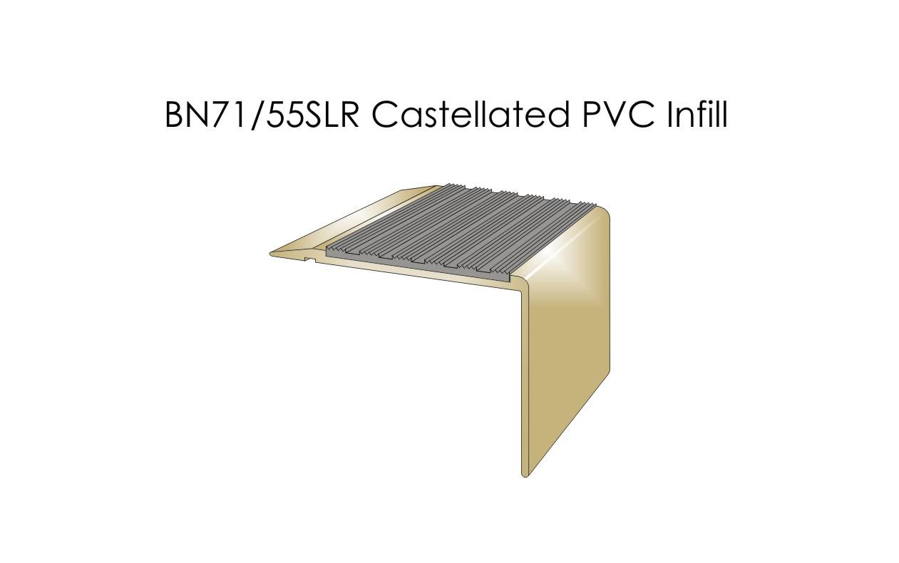 BN71-55SLR Castellated PVC Infill