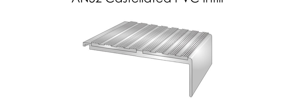 AN52 Castellated PVC Infill