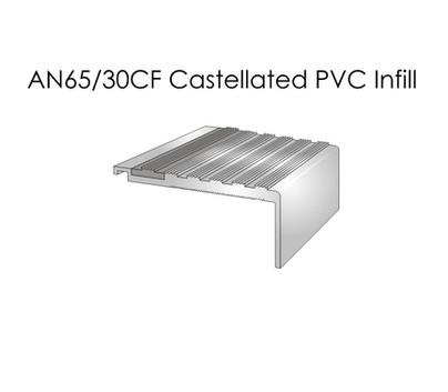 AN65-30CF Castellated PVC Infill