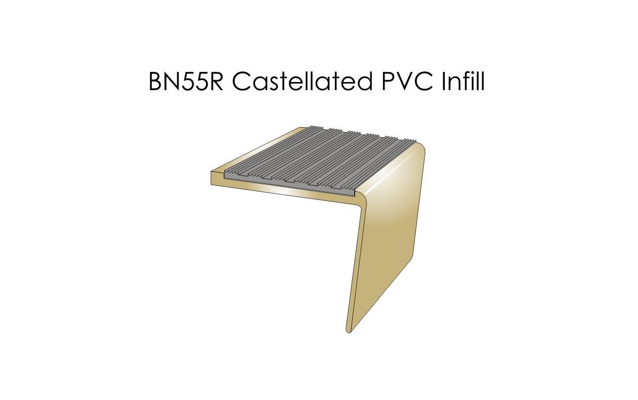 BN55R Castellated PVC Infill