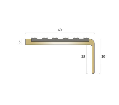 CAT Brass Nosing_0032_BN5 - Castellated