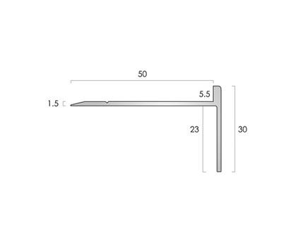 CAT Aluminium Nosing AN20 5.5