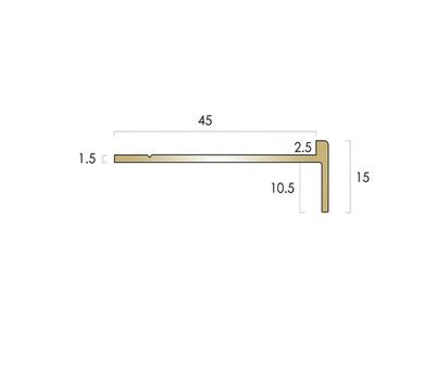 CAT Brass Nosing BN20 15