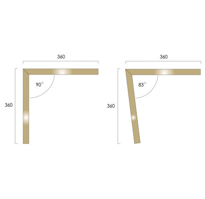 Brass Stringers Angles