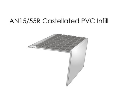 AN15-55R Castellated PVC Infill