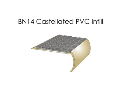 BN14 Castellated PVC Infill