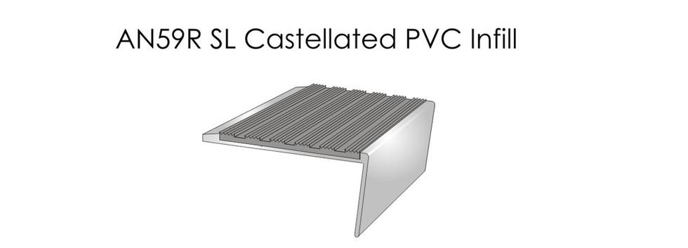 AN59RSL Castellated PVC Infill