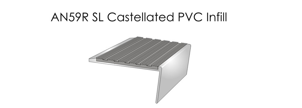 AN59RSL Castellated PVC Infill