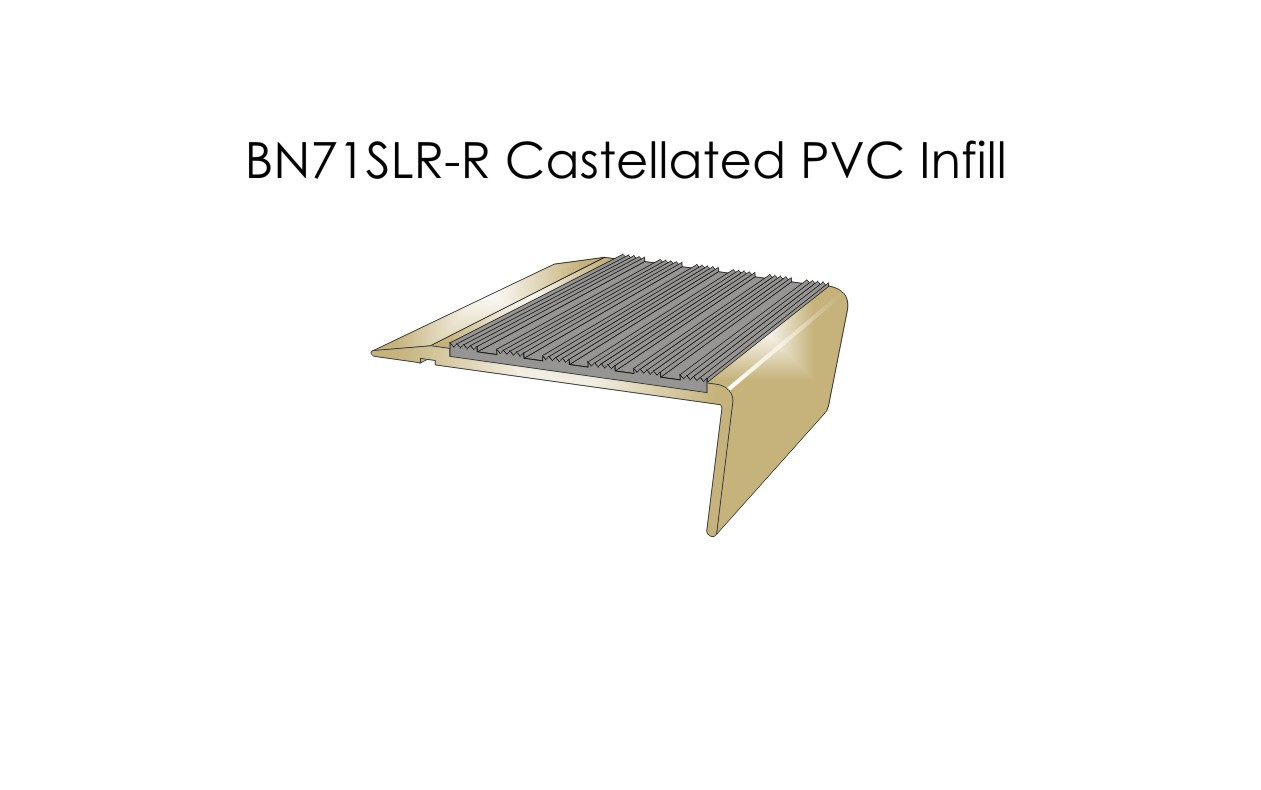 BN71SLR-R Castellated PVC Infill