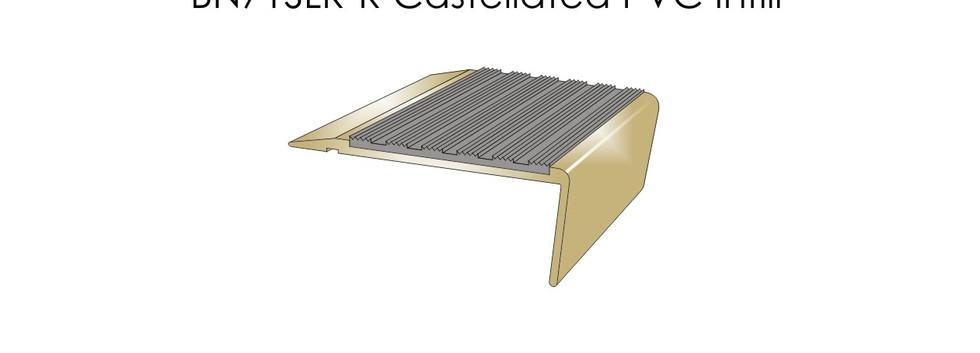 BN71SLR-R Castellated PVC Infill