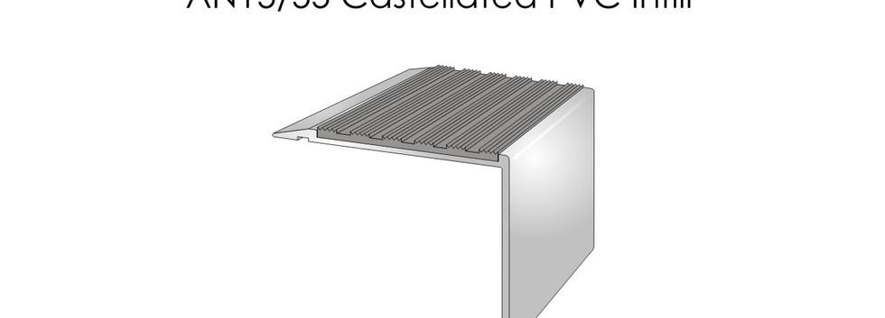 AN15-55 Castellated PVC Infill