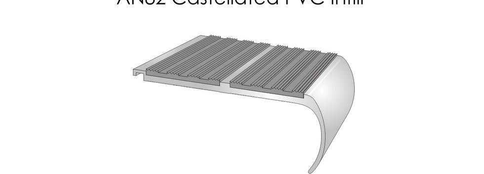 AN82 Castellated PVC Infill
