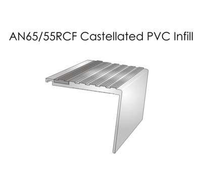 AN65-55RCF Castellated PVC Infill